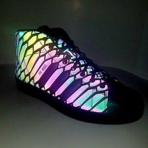 Adidas REFLECTIVE Xeno Pro Model Holographic Shoes